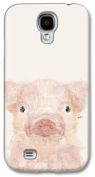 Little Pig Galaxy S4 Case