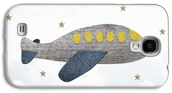 Little Plane Galaxy S4 Case by Samuel Whitton