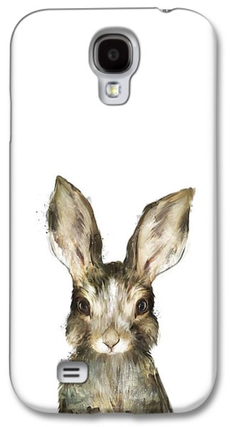 Little Rabbit Galaxy S4 Case by Amy Hamilton
