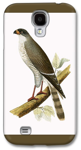 Little Red Billed Hawk Galaxy S4 Case by English School