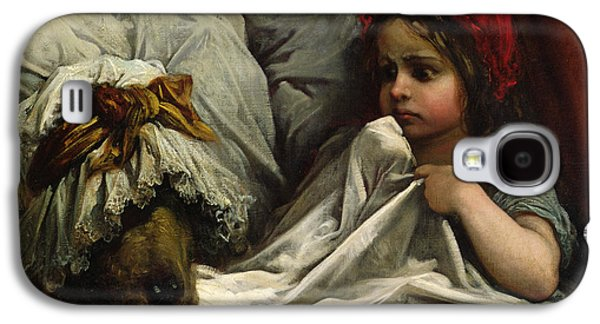 Little Red Riding Hood Galaxy S4 Case by Gustave Dore