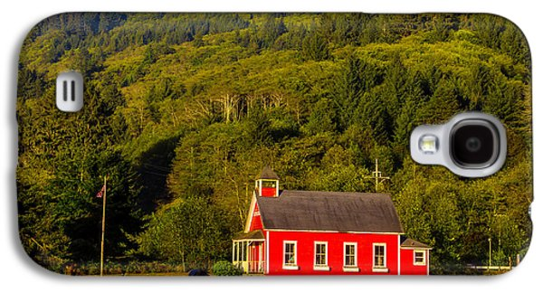 Little Red School House Galaxy S4 Case by Garry Gay