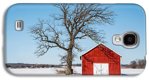 Little Red Shed Galaxy S4 Case by Todd Klassy