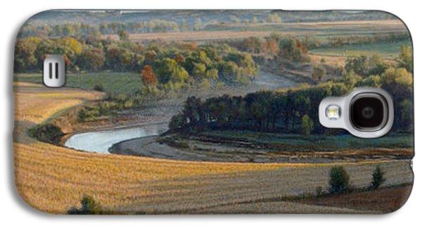 Little Sioux Autumn Sunrise Galaxy S4 Case by Bruce Morrison