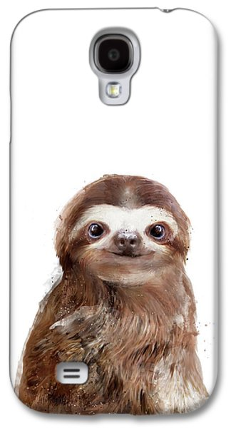 Little Sloth Galaxy S4 Case by Amy Hamilton