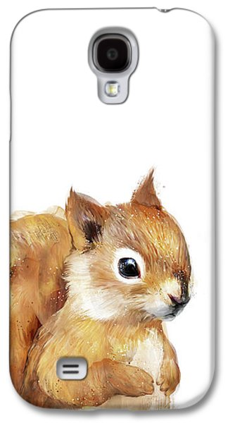 Little Squirrel Galaxy S4 Case by Amy Hamilton