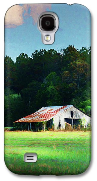 Little White Barn Galaxy S4 Case by Marvin Spates
