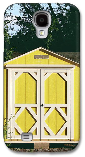 Little Yellow Barn- By Linda Woods Galaxy S4 Case