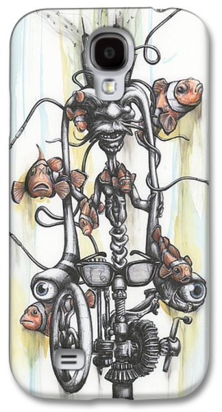 Live And Die On The Grind Galaxy S4 Case by Tai Taeoalii