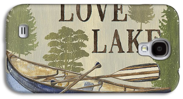 Live, Love Lake Galaxy S4 Case by Debbie DeWitt