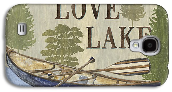 Live, Love Lake Galaxy S4 Case by Debbie DeWitt