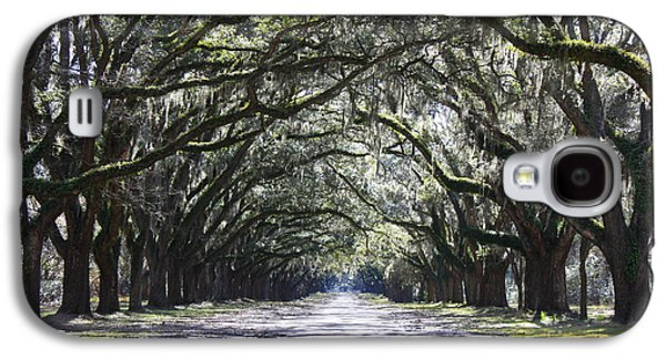 Live Oak Lane In Savannah Galaxy S4 Case