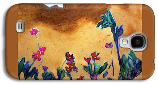 Galaxy S4 Case featuring the painting Living Earth by Winsome Gunning