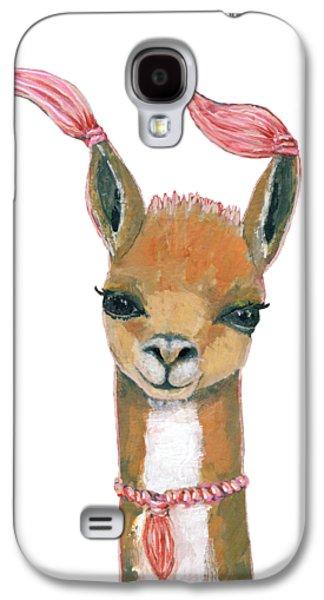 Llama Galaxy S4 Case - Llama by Blenda Studio