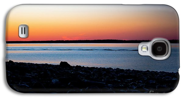 Lobster Boat In Maine Galaxy S4 Case