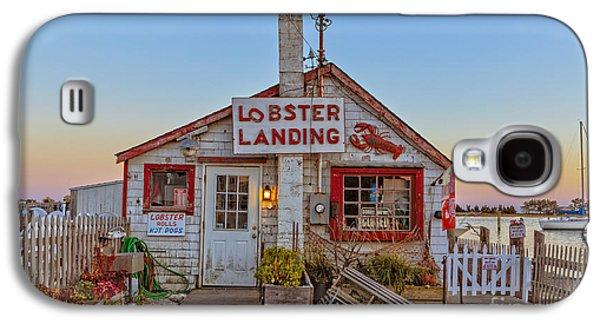 Lobster Landing Sunset Galaxy S4 Case