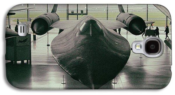 Lockheed Blackbird Galaxy S4 Case by Martin Newman