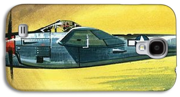 Lockheed P-38j Lightning Galaxy S4 Case by Wilf Hardy