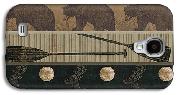Lodge Cabin Quilt Galaxy S4 Case by Mindy Sommers