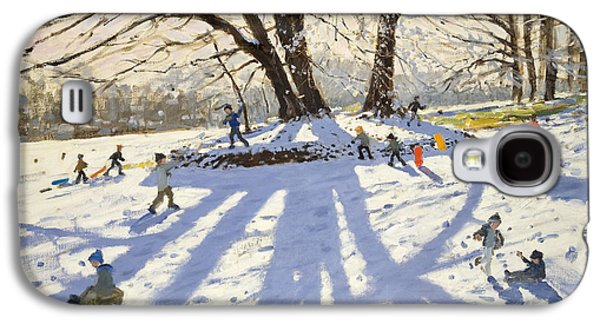 Lomberdale Hall Derbyshire  Galaxy S4 Case by Andrew Macara