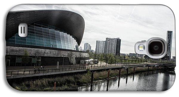 London Aquatic Centre Galaxy S4 Case by Martin Newman