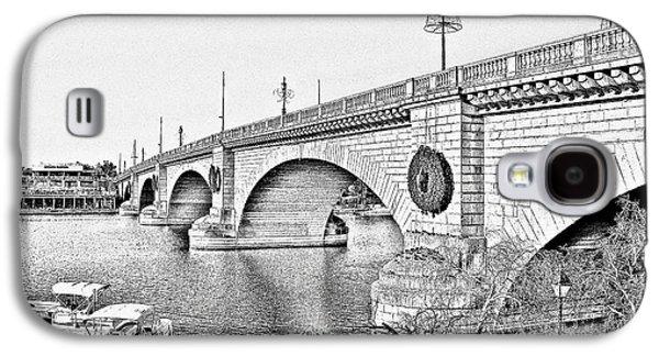 London Bridge Lake Havasu City Arizona Galaxy S4 Case by Christine Till
