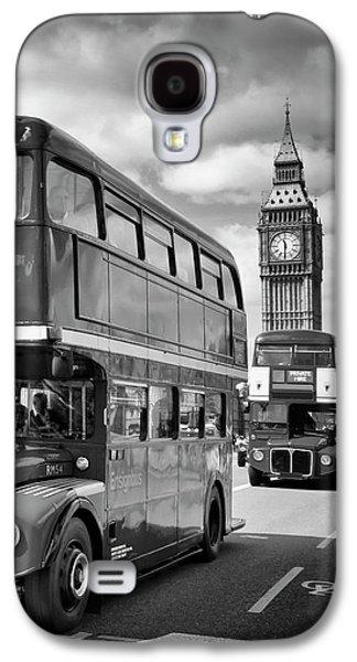 London Classical Streetscene Galaxy S4 Case