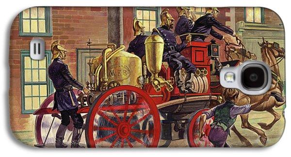 London Fire Engine Of Circa 1860 Galaxy S4 Case