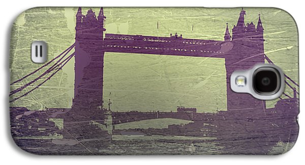 Towers Digital Galaxy S4 Cases - London Tower Bridge Galaxy S4 Case by Naxart Studio
