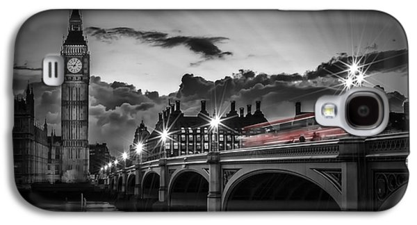 London Westminster Bridge At Sunset Galaxy S4 Case