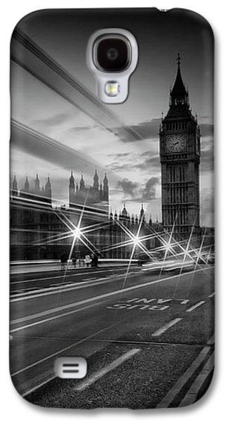 London Westminster Bridge Traffic Galaxy S4 Case
