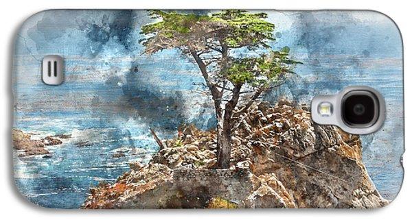 Lone Cypress In Monterey California Galaxy S4 Case