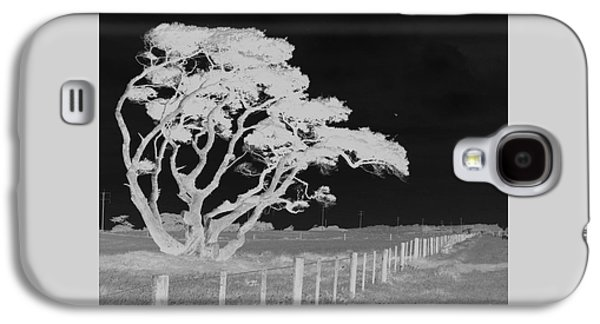 Galaxy S4 Case featuring the photograph Lone Tree, West Coast by Nareeta Martin