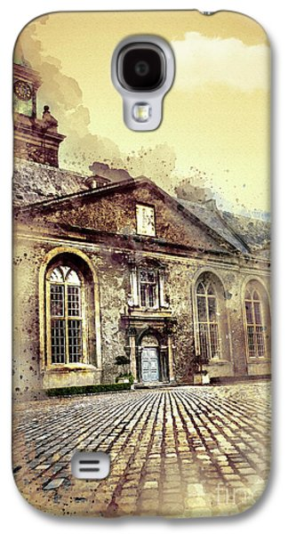 Lonely Man Walking Galaxy S4 Case by Svetlana Sewell