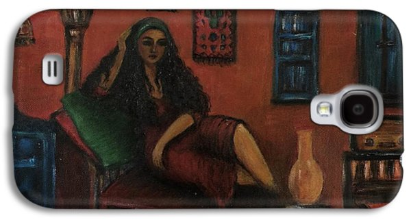 Lonely Woman Galaxy S4 Case by Siran Ajel