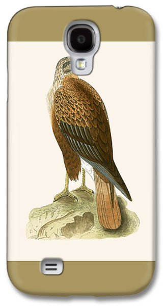 Long Legged Buzzard Galaxy S4 Case by English School