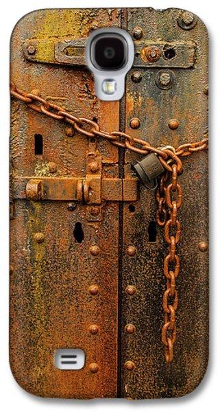 Long Locked Iron Door Galaxy S4 Case