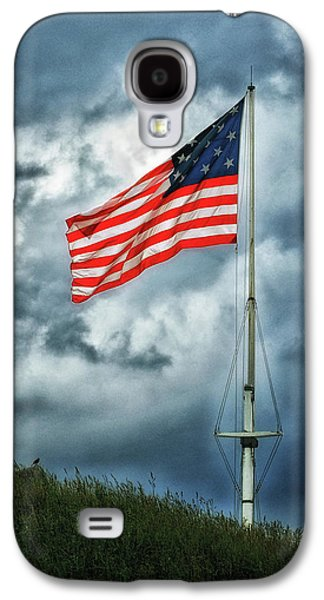 Galaxy S4 Case featuring the photograph Long May It Wave by Bill Swartwout Fine Art Photography