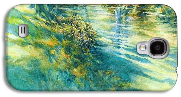 Long Shadows Cypress Creek No 2 Galaxy S4 Case by Virgil Carter