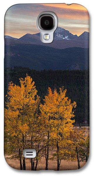 Longs Peak From Moraine Park - Fall Galaxy S4 Case