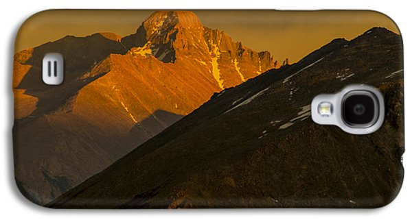 Galaxy S4 Case featuring the photograph Long's Peak by Gary Lengyel