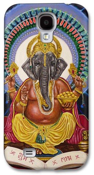 Lord Ganesha Galaxy S4 Case by Adrienne Martino