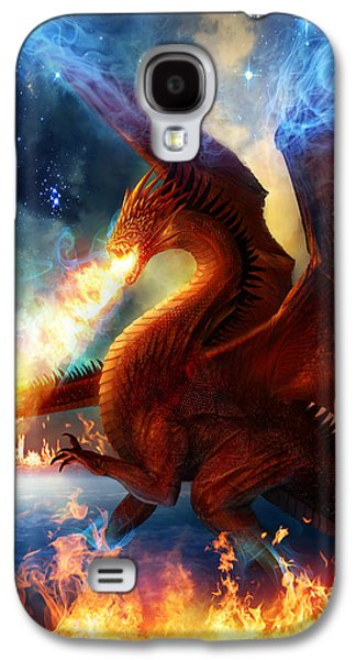 Lord Of The Celestial Dragons Galaxy S4 Case by Philip Straub