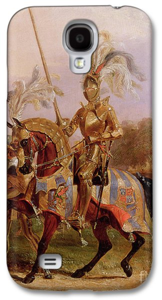 Lord Of The Tournament Galaxy S4 Case by Edward Henry Corbould