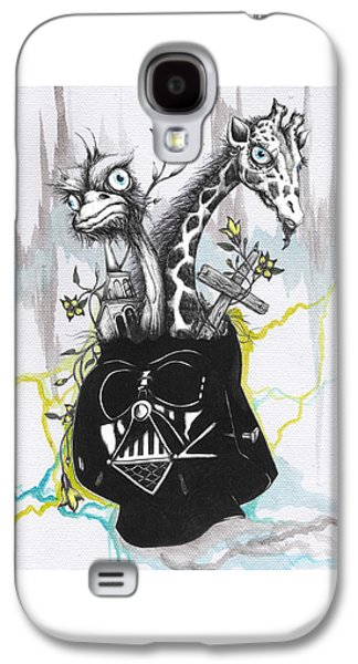 Lord Vader's Happy Place Galaxy S4 Case