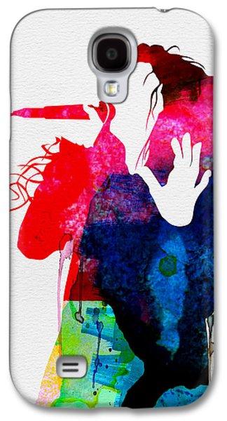 Lorde Watercolor Galaxy S4 Case by Naxart Studio
