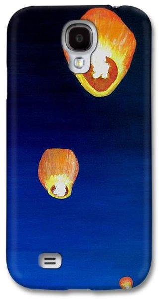Lorraine's Lanterns Galaxy S4 Case by Jack Skinner