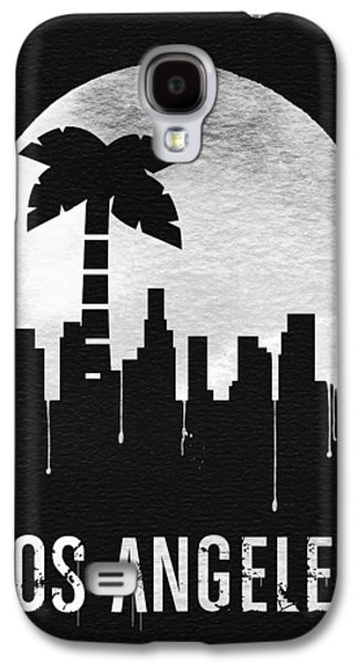Los Angeles Landmark Black Galaxy S4 Case by Naxart Studio