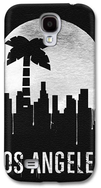 Los Angeles Landmark Black Galaxy S4 Case by Naxart Studio