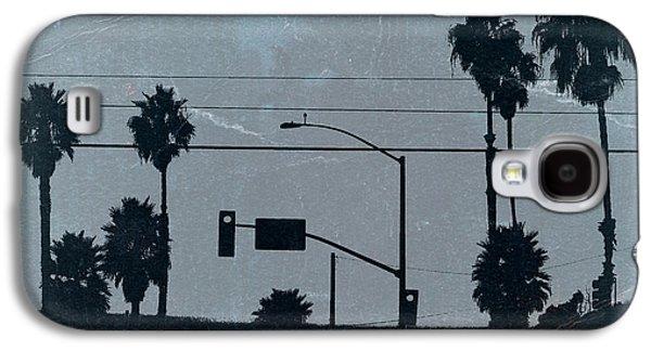 Photography Digital Art Galaxy S4 Cases - Los Angeles Galaxy S4 Case by Naxart Studio